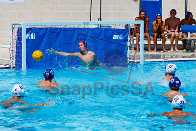 Brandeis vs Warren Water Polo Boys-8281