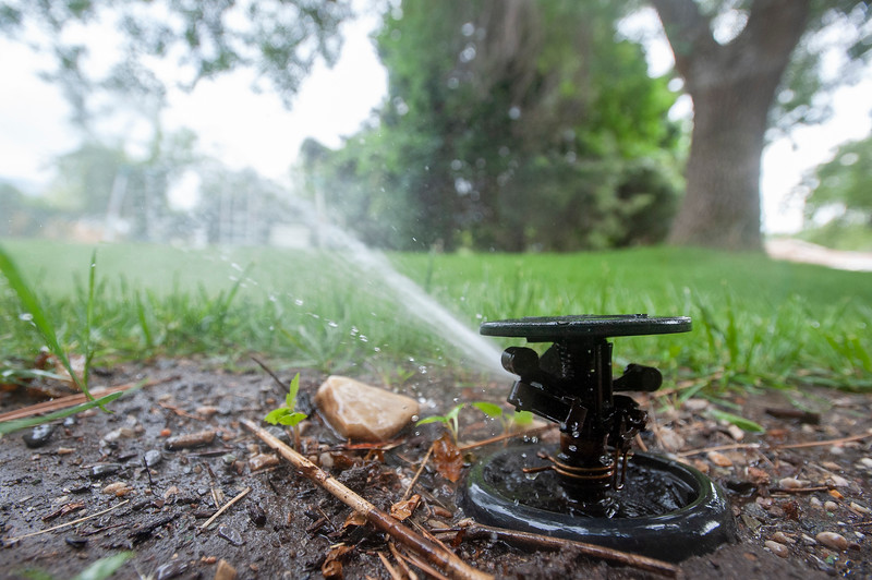 new restrictions on watering in light of the statewide drought. Plesant View