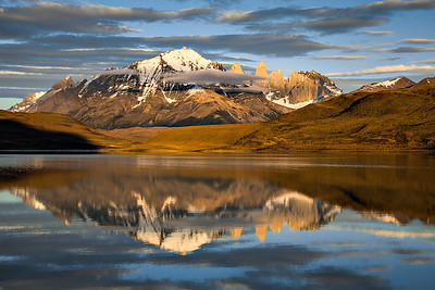 Torres Del Paine Reflected