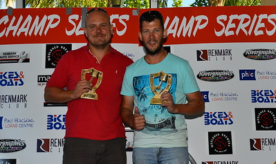 25's winners...(L to R) 1st Steve Campbell/Michael Spencer