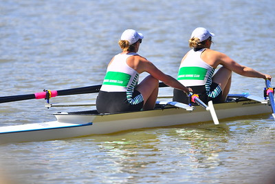 Stephanie Turnbull (Renmark) and Anna Peterson (Renmark)win their race