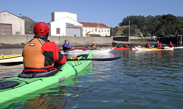 2012 Golden Gate Sea Kayak Symposium (GGSKS) - UNDERWATER - Friday-Saturday-Sunday.