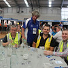 Tuesday heats of the 2014 Orica NSW Water Taste Test - WIOA NSW Advisory Committee Chairman Lindsay Walsh gets involved