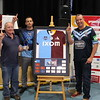 Shoalhaven Water Representatives celebrating their win in the 2019 Ixom Water of Origin Competition at the WIOA Conference in Bundaberg