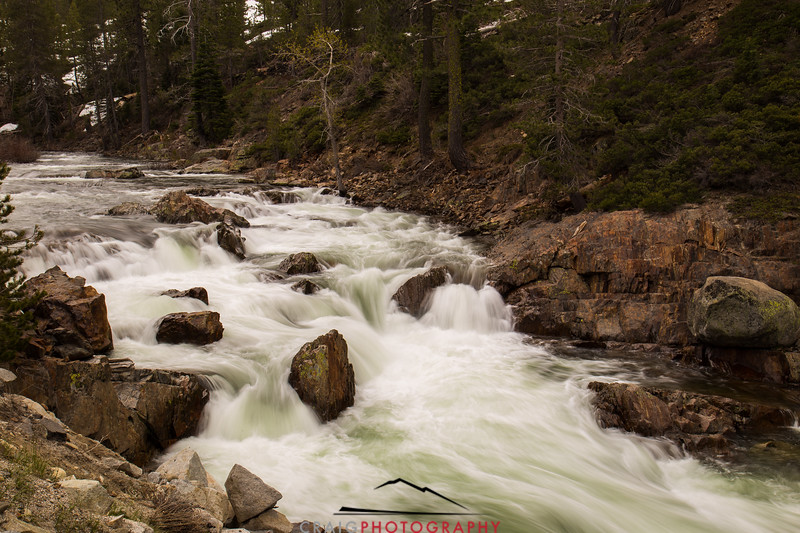 South Fork Yuba River Near Cisco Grove #1