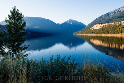 Morning light on Wallowa Lake