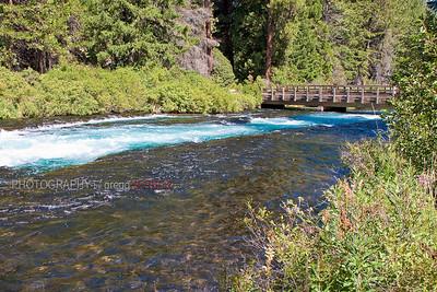 Wizard Falls, Metolius River, OR