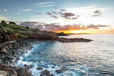 Lawa'i Bay at sunrise