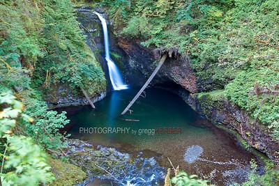 Lower Butte Creek Falls (9/18/2009)