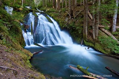 Little Zig Zag Falls, Mt Hood, OR