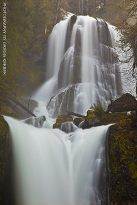 Falls Creek Falls - Gifford Pinchot NF