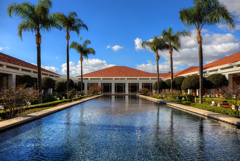 Nixon Library Grounds