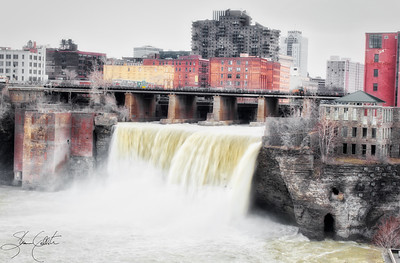 High Falls in Rochester NY 2016