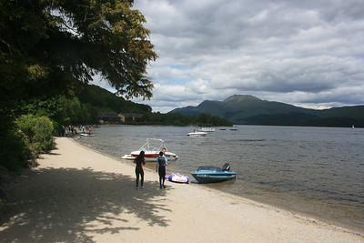 Luss, Loch Lomond.