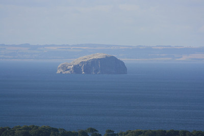 Bass Rock from Doon hill.
