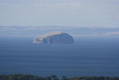 Bass Rock from Doon hill.