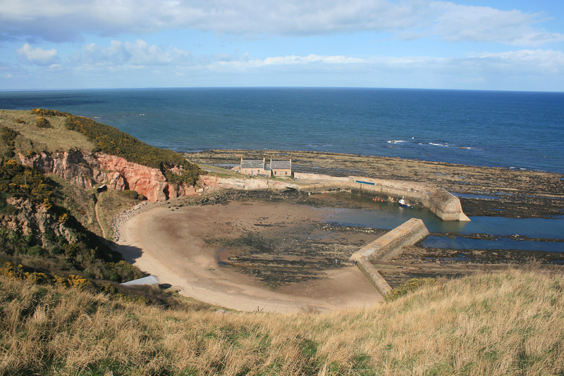 Cove Harbour, Berwickshire.