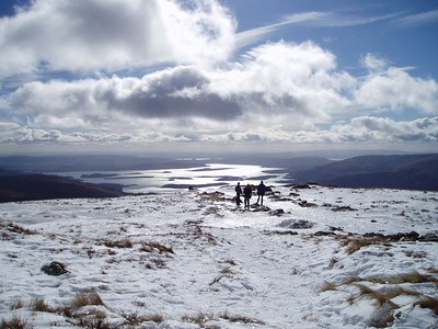 Loch Lomond from Ben Lomond.