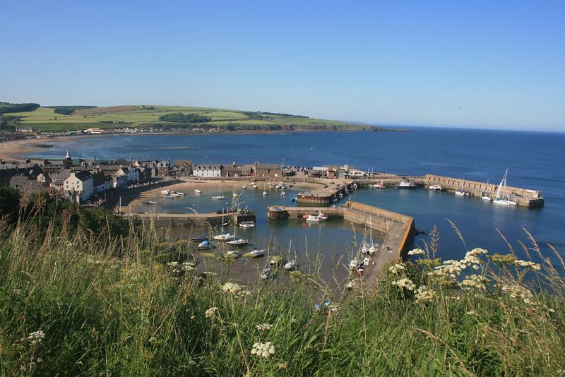 Stonehaven harbour, Aberdeenshire.