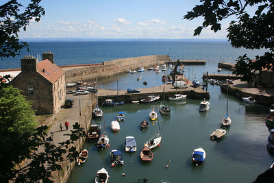 Dysart Harbour, Fife.