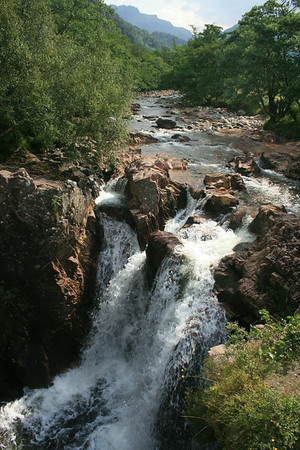 The lower falls, Glen Nevis.