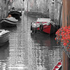B & W Venice boats