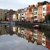 Row house reflection