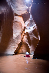 WHITE CANYON, UT - Canyoning through Black Hole with Doug Schnitzspahn, Cory Lowe, Dan Ransom