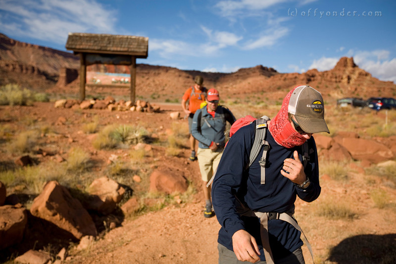 WHITE CANYON, UT - Canyoning through Black Hole with Doug Schnitzspahn, Cory Lowe, Dan Ransom