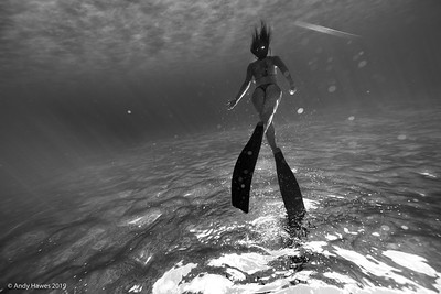 Andy Hawes Water Photography, Makua Beach