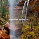 Zion Falls 2, @ R  Hansen 2015