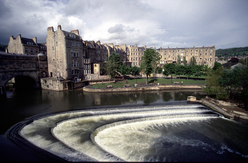 Pultney Weir, Bath, UK