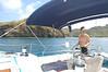 Leaving Chatham Bay for Mayreau