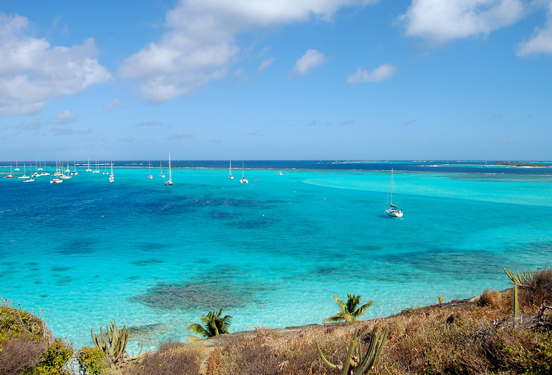 Tobago Cays from Jamesby