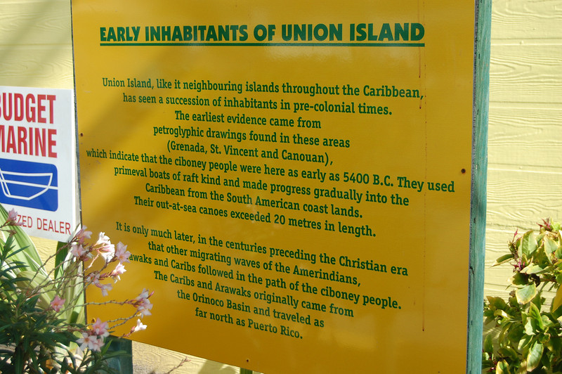 Some Union Island history.