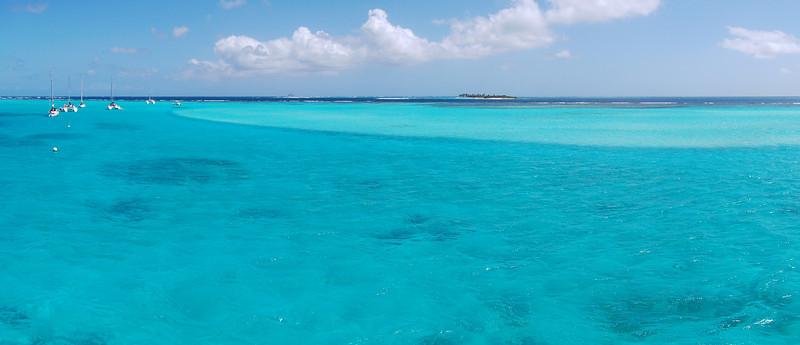Tobago Cays panoramic