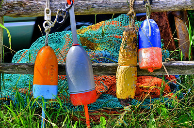 Buoy's on Bailey's Island, Maine #397