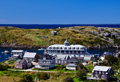 Monhegan Island  Hotel and Harbor