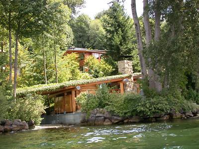 Kayaking to Bill Gates' house