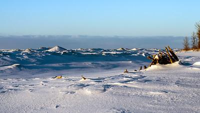 Presque Isle State Park - winter