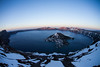 Sunset at Crater Lake, Oregon