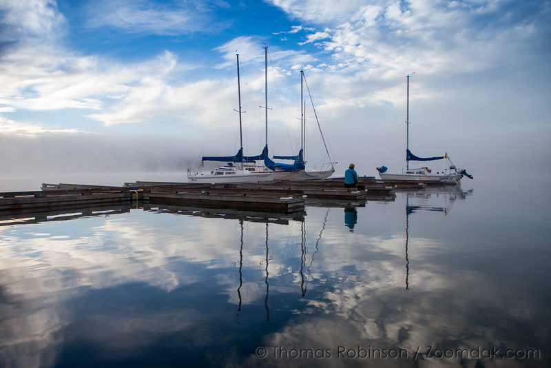 Elk Lake Reflections