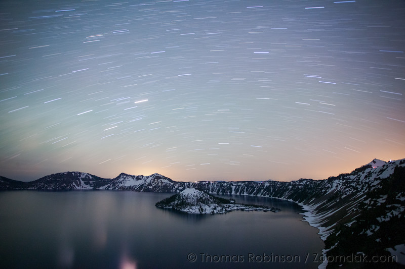 Fifteen Minutes at Crater Lake