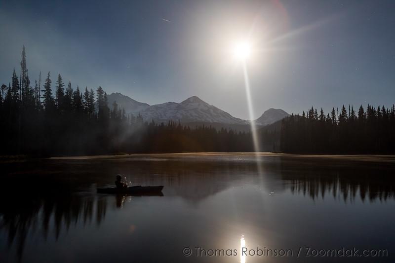Scott Lake Night Kayak