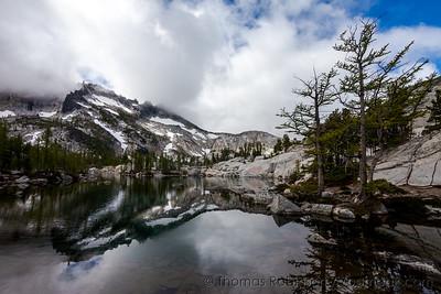 Leprechaun Lake Framed by Trees
