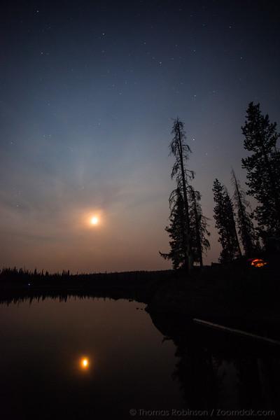 Night Camping at Sparks Lake, Oregon