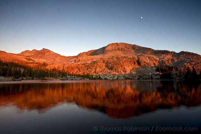 Alpenglow in Yosemite National Park