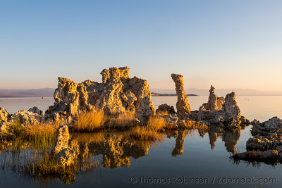 Tufa Glow Reflection