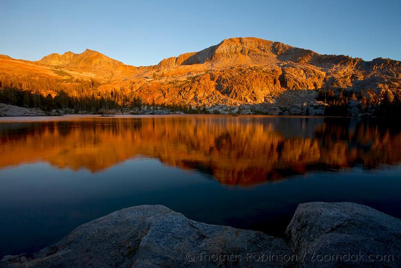 Sunset at Lower Ottoway Lake, Yosemite National Park