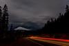 Cascade Lake Highway by Night